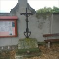 Image for Christian Cross - Raná (in front of the cemetery), Czechia