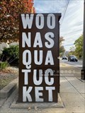 Image for Woonasquatucket River Greenway painted utility box 4 - Providence, Rhode Island
