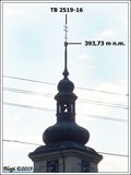 Image for TB 2519-16 Tatenice kostel, CZ