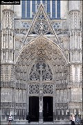 Image for Main portal of the St. Gatien Cathedral (Tours, France)