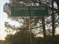 Image for Copper Canyon, TX - Population 1216