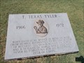 Image for T. Texas Tyler - Janssen Park - Mena, Arkansas