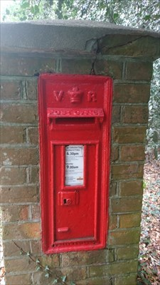 Victorian Post Box - Holtye, UK - Victorian Post Boxes on