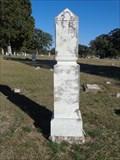 Image for J. J. Pembroke - Coker Cemetery - Bulcher, TX