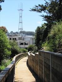 Sutro Tower View, Buena Vista Park, San Francisco, CA