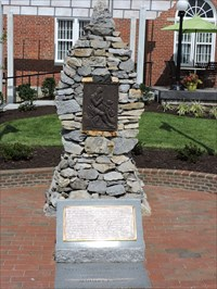 Time Capsule at the Daniel Boone Trail Marker