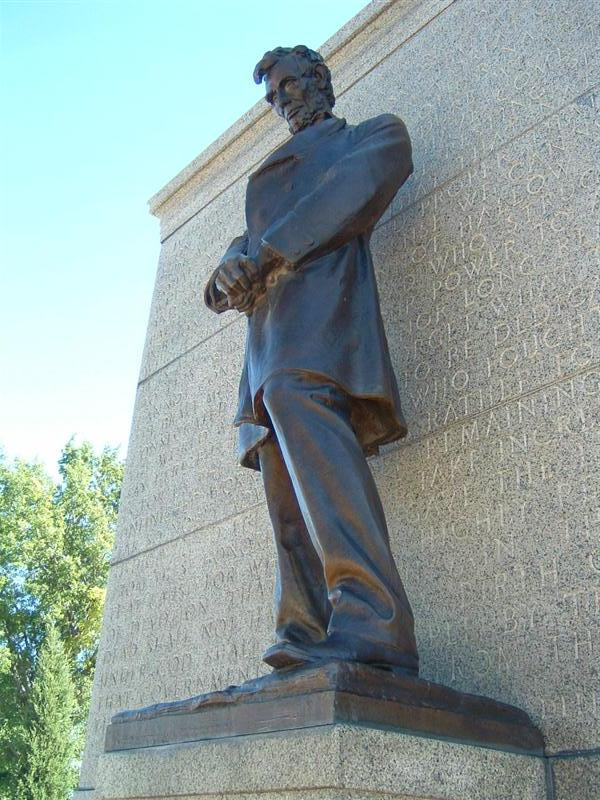 Statue Of Abraham Lincoln The Th President Of The United States - Is nebraska in the united states