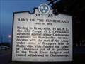 Image for Army of the Cumberland 3 A 25, Murfreesboro TN