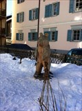 Image for Bear Statue near Crusch Alva - Bergün, GR, Switzerland