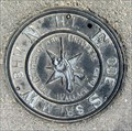 Image for Center of the Universe Compass Rose - Wallace, Idaho