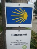 Image for Way Marker - Rathaushof in Schwarzenbach a.d.Saale/Germany/BY
