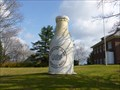 Image for Big Cement Milk Bottle - Whately, MA