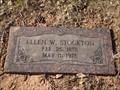 Image for 100 - Ellen W. Stockton - Rose Hill Burial Park - OKC, OK
