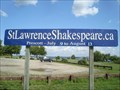 Image for The St. Lawrence Shakespeare Festival Sign