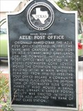 Image for Near Site of Azle Post Office