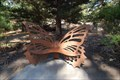 Image for Butterfly bench -- Pacific Grove California