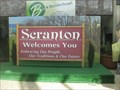 Image for Scranton PA Welcome Sign