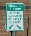 Image for On Cue/OG&E EV Charging Station - Yukon, Oklahoma USA