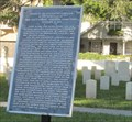 Image for Gettysburg Address in St. Augustine Natl Cemetery
