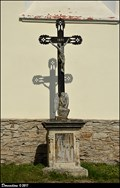 Image for Cross at Church of St. Giles / Kríž u kostela Sv. Jiljí - Vlašim (Central Bohemia)