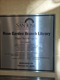 Image for Rose Garden Library - 2006 - San Jose, CA