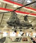 Image for CH-46A Sea Knight - Museum of Naval Aviation - NAS Pensacola, Florida, USA.