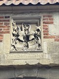 Image for Burg Vischering Coat of Arms, Lüdinghausen, NRW, Germany