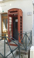 Image for Red Telephone Box in Beton-Bazoches, France
