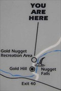 "Image for ""Gold Nugget"" sign - Gold Nugget Rec Site - Oregon"