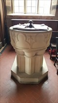 Image for Baptism Font - All Saints - Bradley, Derbyshire