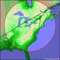 Image for ISS Sighting - Edmond, OK - Warrenton, MO - Erie, PA - Site 3