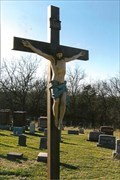 Image for Cemetery Crucifix - St. John's Cemetery - Clear Creek, MO