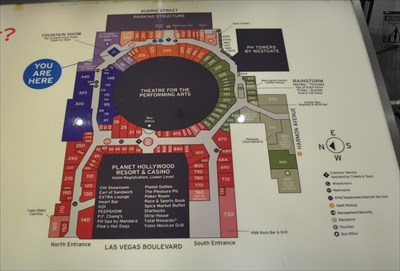 Planet Hollywood, Miracle Mile Shops - Parking Garage Access - \'You ...