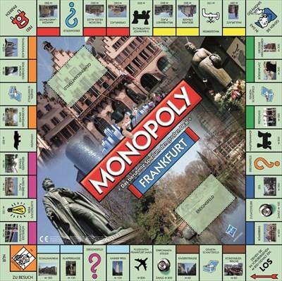 Spielbrett Monopoly Frankfurt