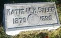 Image for Katie M.H. Speer - S.F.W.C. Headstone - Evansville, IN