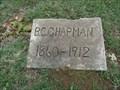Image for B.C. Chapman - Eakins Cemetery - Ponder, TX