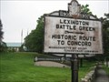 Image for Lexington Battle Green --> Historic Route to Concord