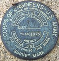 Image for U.S. Army Corps of Engineers CE.POW-1 BL.PT.-2 NORFOLK DIST Benchmark - Jamestown, VA