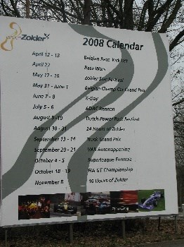 Racekalender van 2008