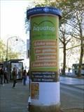 Image for Concrete Advertising Column - Heinrichsallee 53-55  - Aachen - NRW - Germany