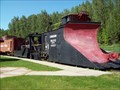 Image for CPR 401027 Wedge Type Snow Plow - Revelstoke, BC