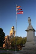 Image for Confederate Soldier Monument -- Llano TX