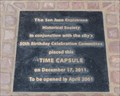 Image for SJC Time Capsule  -  San Juan Capistrano, CA