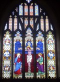 Image for East Window - Church of St.Michael and All Angels, Bruisyard Road, Peasenhall, Suffolk. IP17 2HL.