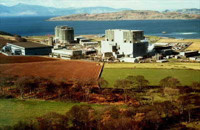 Left - Hunterston A,  Right - Hunterston B