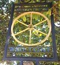 Image for Golden Wheel Village Sign - Whilton, Northamptonshire