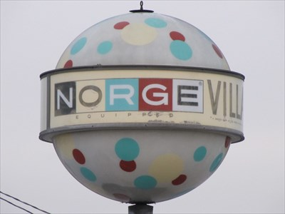 Norge Village Ball, San Gabriel, California