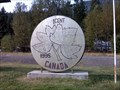 Image for World's Largest  Penny - Salmo, British Columbia