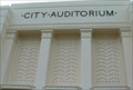 Image for City Auditorium -- York, Nebraska