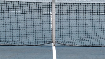 Close Up of Net